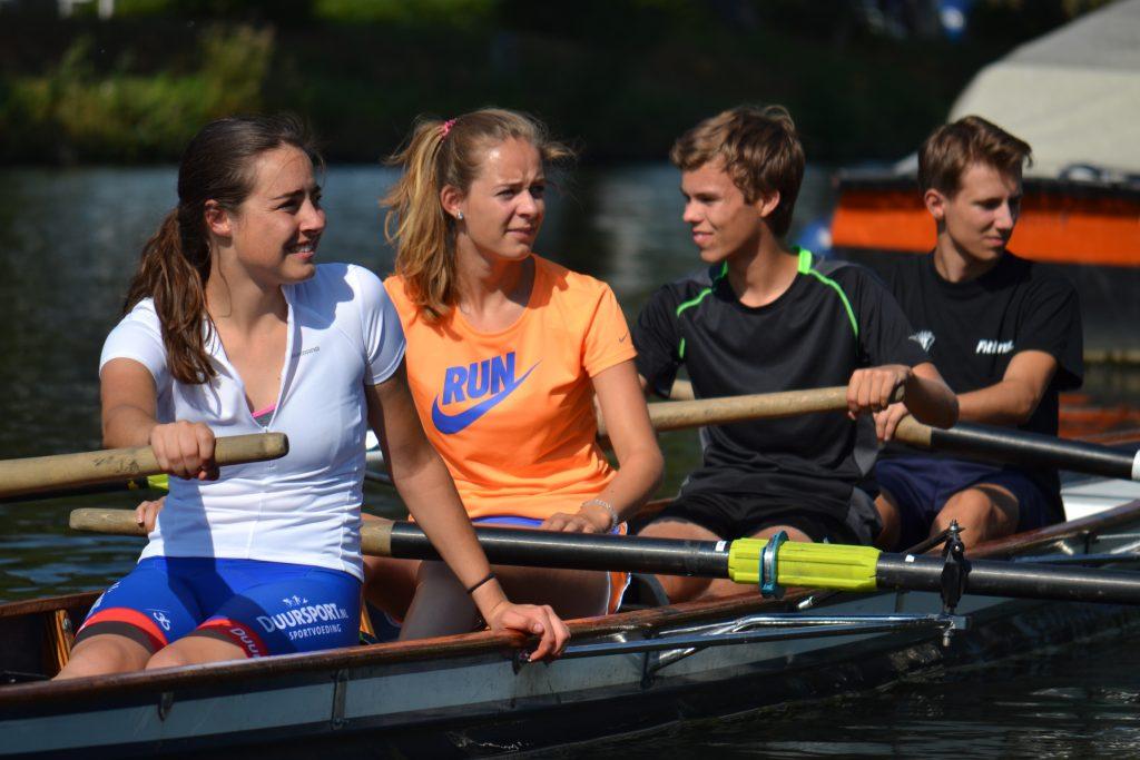 Sportoriëntatie voor middelbare scholieren bij Roeclinics Utrecht