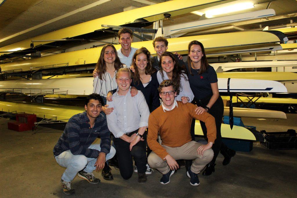 Team studenten Roeiclinics Utrecht.